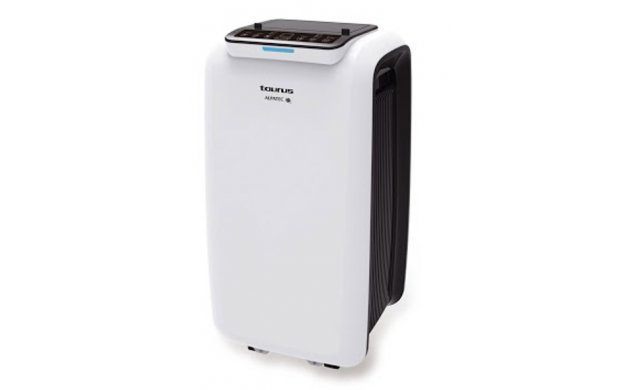 "Taurus - Air Conditioner -  3 Speed  - Plastic -  White -  9000BTU  - 990W  - ""AC280KT"" - 956301"