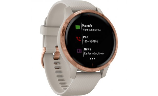 Garmin Venu - Light Sand/Rose Gold - 010-02173-22