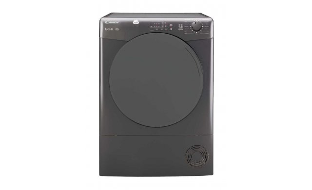 Candy Smart Series 9kg Tumble Dryer | Anthracite & Closed Door