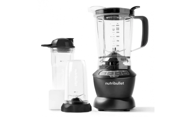 NutriBullet - Blender 1000W Combo Set - Black - 690-000140