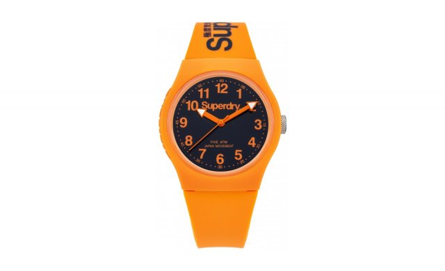 Superdry - Urban Silicon Watch - Orange - SYG1640