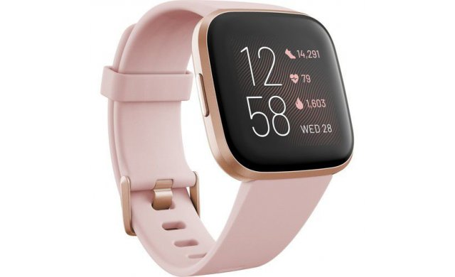 Fitbit Versa 2 Smart Watch Copper Rose Petal - FITFB507RGPK
