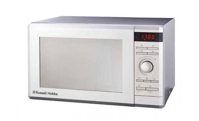 Russell Hobbs Electronic Microwave Silver Mirror Finish 36L - 858647 - RHEM36G