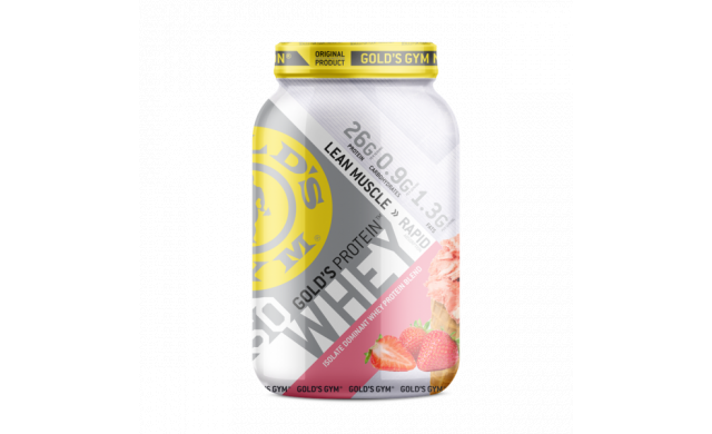 Gold's Gym Iso-Whey 980G - Strawberry