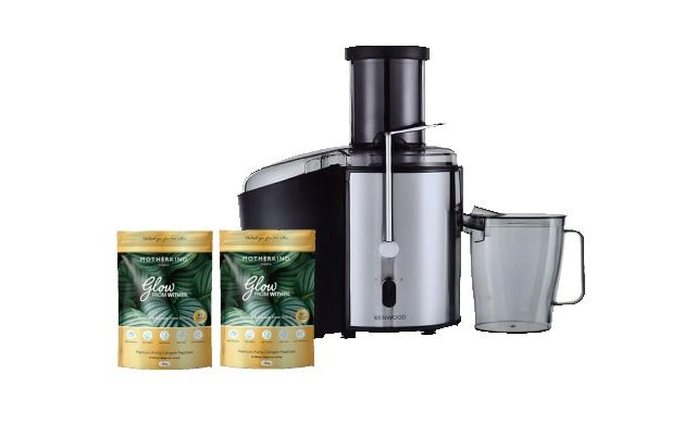Bundle-KenwoodAccentCollectionCentrifrugalJuicerMotherkindGlowfromWithinCollagen250g