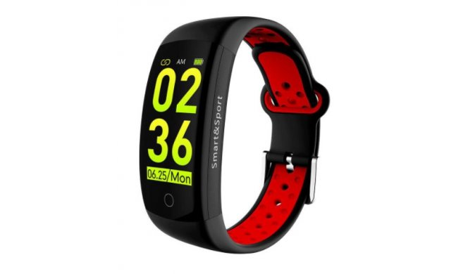 Aiwa IOS: 8.2/ ANDROID: 4.4 Smart Band - Black / Red - AHSB-7677
