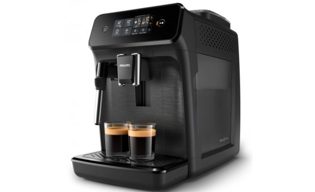 Philips 1200 Series Fully Automatic Espresso Coffee Machine - Black - EP1220/00