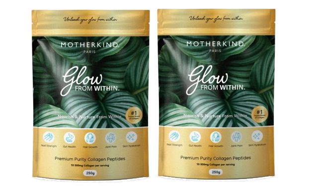 2 Pack - Motherkind - Glow from Within Collagen - 250g