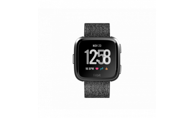 Fitbit Versa Fitness Smartwatch - Special Edition (Charcoal Woven) -
