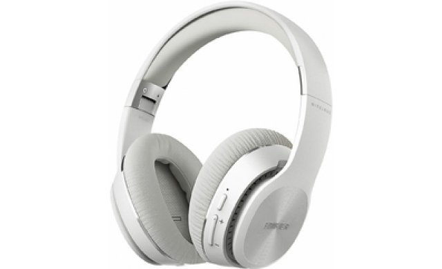 Edifier - Bluetooth Stereo Headphones- White- W820BT-WHI