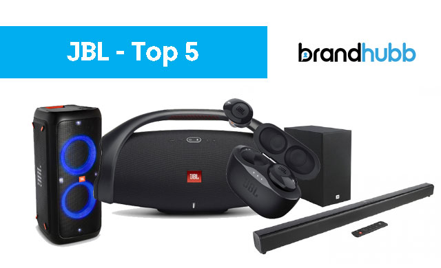 The 5 Most Popular JBL Products on Brand Hubb