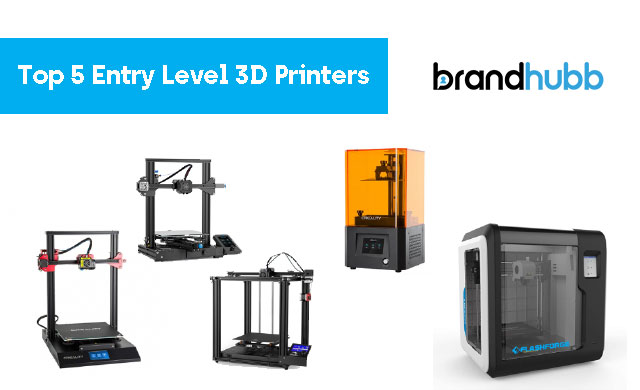 Our Top 5 Entry Level 3D Printers