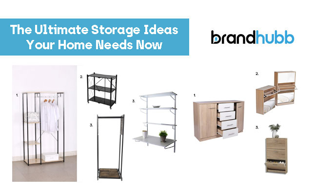 The Ultimate Storage Ideas Your Home Needs Now