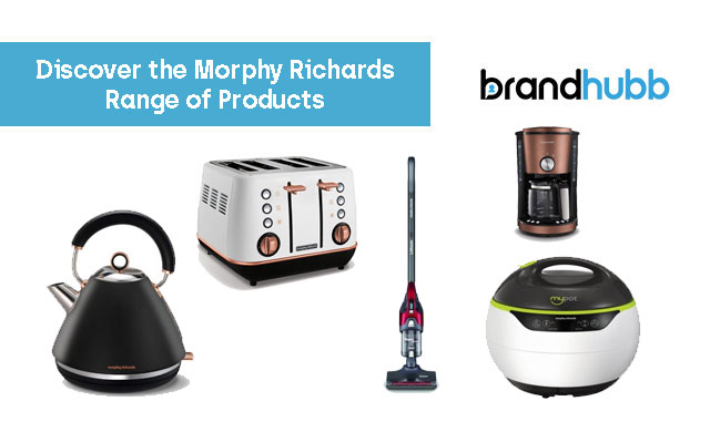 Discover the Morphy Richards Range of Products